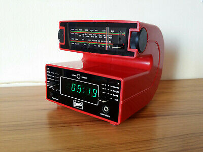 Radio reloj Graetz Form 100  Space Age Clock
