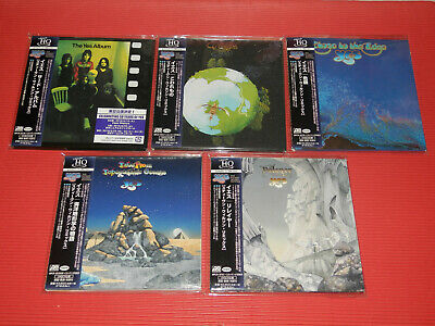 Free Shipping Yes Steven Wilson Remix  Japan 5 Mini Lp Uhq Cd Set
