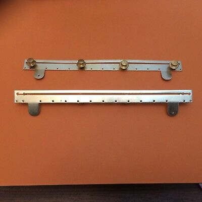Replacement medal mounting bar six spaces 18cm for full size medals
