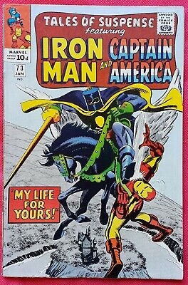 Tales of Suspense 73 Marvel Silver Age 1966 The Black Knight vf