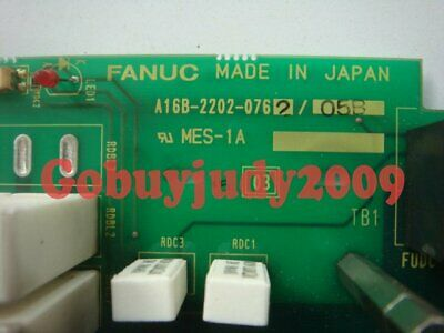 Used FANUC Servo drive board A16B-2202-0762 Tested It In Good Condition