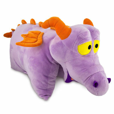NEW! Disney Parks Figment Plush Pillow Pet Pal Plush Figure Epcot