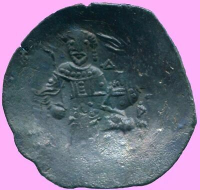 AUTHENTIC BYZANTINE EMPIRE  Aspron Trache Coin  2.72 g/25  mm BYZ1020.13