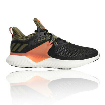 65363858e7a0a adidas Mens Alphabounce Beyond 2 Running Shoes Trainers Black Green Sports