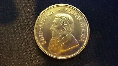 1 oz South African Krugerrand Gold Coin - 1975