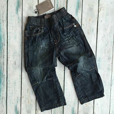 NWT - Jean Bourget French Pull on Boys Jeans - Size 18M