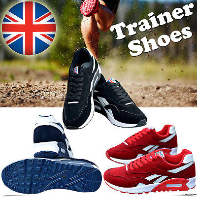 Uk Running Trainers Casual Lace Gym Walking Boys Sports Shoes Ladies Size Lot