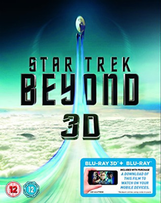 Star Trek Beyond - 2D & 3D Blu-Ray (UK IMPORT) DVD NEW