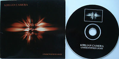 ⭐⭐⭐  KIRLIAN CAMERA ⭐⭐⭐ UNIDENTIFIED LIGHT ⭐⭐⭐ 11 Track CD ⭐⭐⭐⭐ TRITON  Digipack