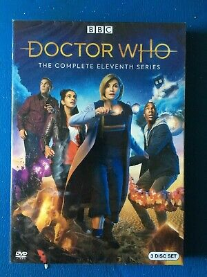 Doctor Who Season 11 (DVD,3-Disc) Region-1
