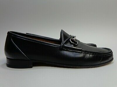 994de10e484 Allen Edmonds Bruzzano Horse Bit Loafer Calf Skin Leather Italy Mens Size 12  B