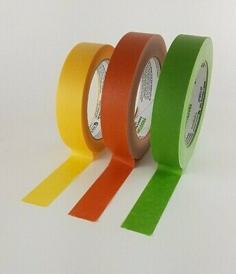 Frogtape Decorators Masking Tape Green multi surface Yellow delicate 24mm x41.1m