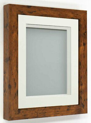 Frame Company Rickman Range Rustic Box Frame with Choice of Mount Colours