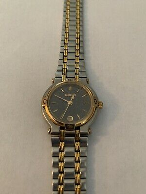 638568ded5c Vintage 1980s Authentic Women s GUCCI Watch Swiss 9000L W  Xtra Links  Attached