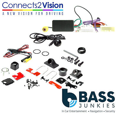 Rear Reversing Camera & Add On Interface Kit For Toyota Auris 2013 Onwards