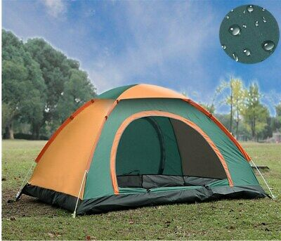 3 4 MAN PERSON Family Pop Up Tent Camping Festival