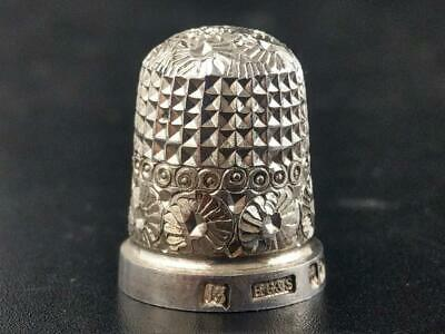 Henry Griffith and Sons Chester Silver Thimble c1895