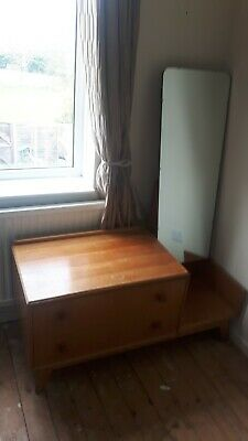 Vintage 60's Thomas Meredew Chest of drawers with mirror