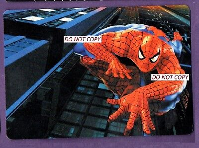 Gift Idea   -  Spiderman Calendar Cards X 6   Fast Post From Uk  Seller