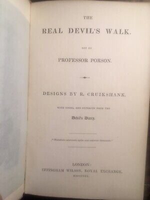 The Real Devil'S Walk - Very Rare  First Edition-1830-Porson-Southey - Coleridge
