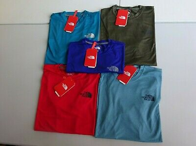 8ad2fefdc NEW THE NORTH Face Reaxion Short Sleeve - Flash-Dry Tee - Men's Size ...