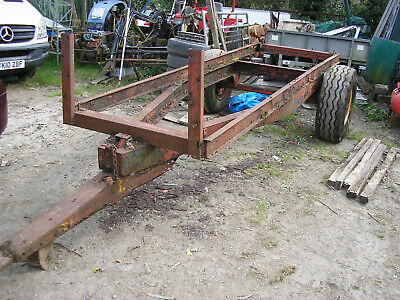 Farm trailer chassis. 12ft bed.