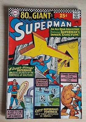 SUPERMAN 187  - 80 Page Giant G23 - VG+