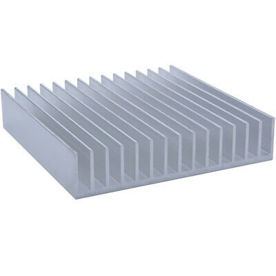 165*165*34.5mm Anodized Aluminium Heat Sink CPU Power Transistor TO-126 TO-220