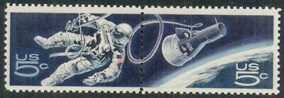#1331-2 5¢ Space Twins Lot Of 200 Pairs Mint Stamps, Spice Up Your Mailings!