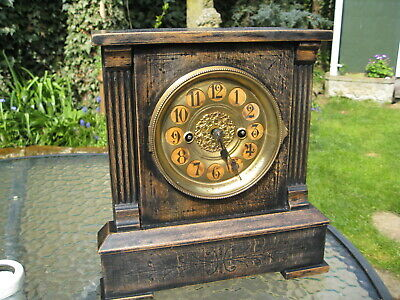 Superb Antique Victorian  Mantle  clock, working