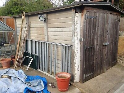 Concrete Sectional Building Shed No Asbestos        Free To Collector