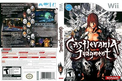 Nintendo Wii Replacement Game Case and Cover Castlevania Judgment