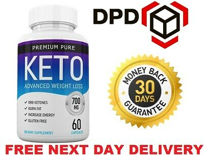 Premium  Pure Keto Advanced Weight Loss 60 Capsules  (Fast & Free Shipping)