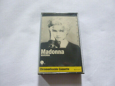 Madonna ~ S/T~ Original 1983 Synth Pop Chrome Cassette Tape ~ Paper Labels