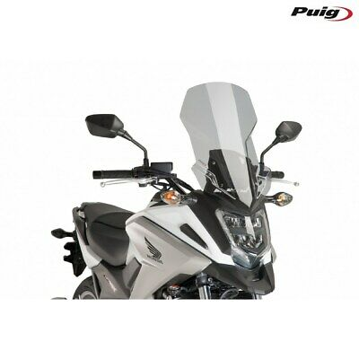 PUIG Fairing Touring Honda NC750X 2017 Smoke Clear