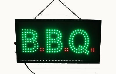 BBQ Sign Barbeque LED sign bbq Window Sign Hanging bbq Signboard Light Box