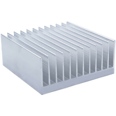 140*140*60mm Anodized Aluminium Heat Sink For CPU Power Transistor TO-126 TO-220