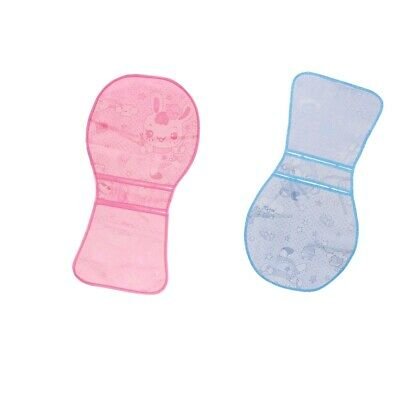MagiDeal 2Pcs Baby Stroller Summer Mat Cool Feeling Infant Pram Seat Liner