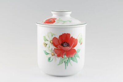 Royal Worcester - Poppies - Storage Jar + Lid - 243237G
