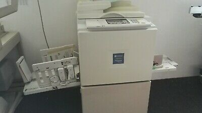 Ricoh Priport JP8500 A3 printer with 4 drums black blue red green