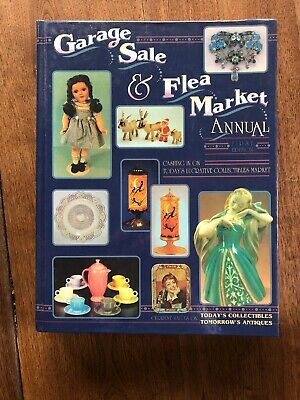 Garage Sale & Flea Market Annual First Edition Value Guide Hardcover Book