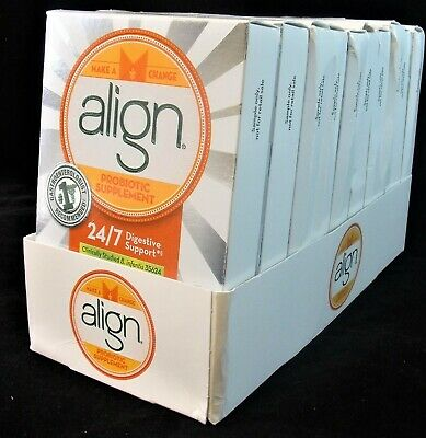 (70) Capsules New Align Probiotic Supplement 24/7 Digestive Support Exp: 11/2018