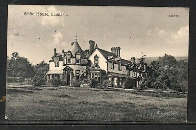 1926 White House Lamlash Isle Of Arran Ayrshire Posted Card See Scans