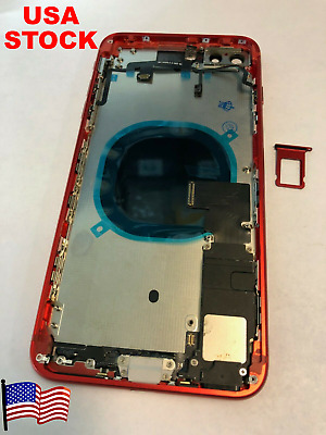 Replacement Back Housing Battery Cover Frame Assembly Glass iPhone 8 Plus, X, XR