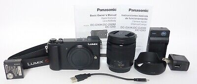 Panasonic Lumix GX9M 20.3MP Camera w/12-60mm F3.5-5.6 Lens - Under 900 Clicks!