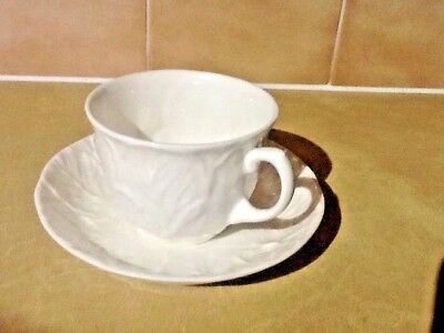 Wedgwood Countryware Cup & Saucer - White