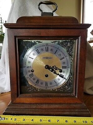 BARWICK Howard Miller Mantle Carriage Clock Westminster Chimes #4992 w/3 chimes