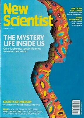 NEW SCIENTIST MAGAZINE 13th APR 2019 ~ SPECIAL OFFER BUY ANY 6 ISSUES FOR £10.00