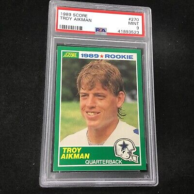 Troy Aikman Football Card Lot You Pick Includes Inserts
