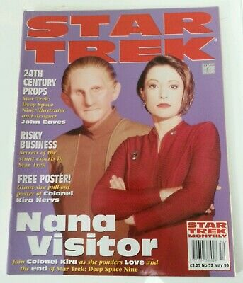 MAGAZINE - Star Trek Official Monthly Magazine May 1999 Issue #52 Collectible